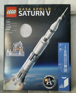 New Lego 21309 Space Ideas Nasa Apollo Saturn V Sealed 673419277150