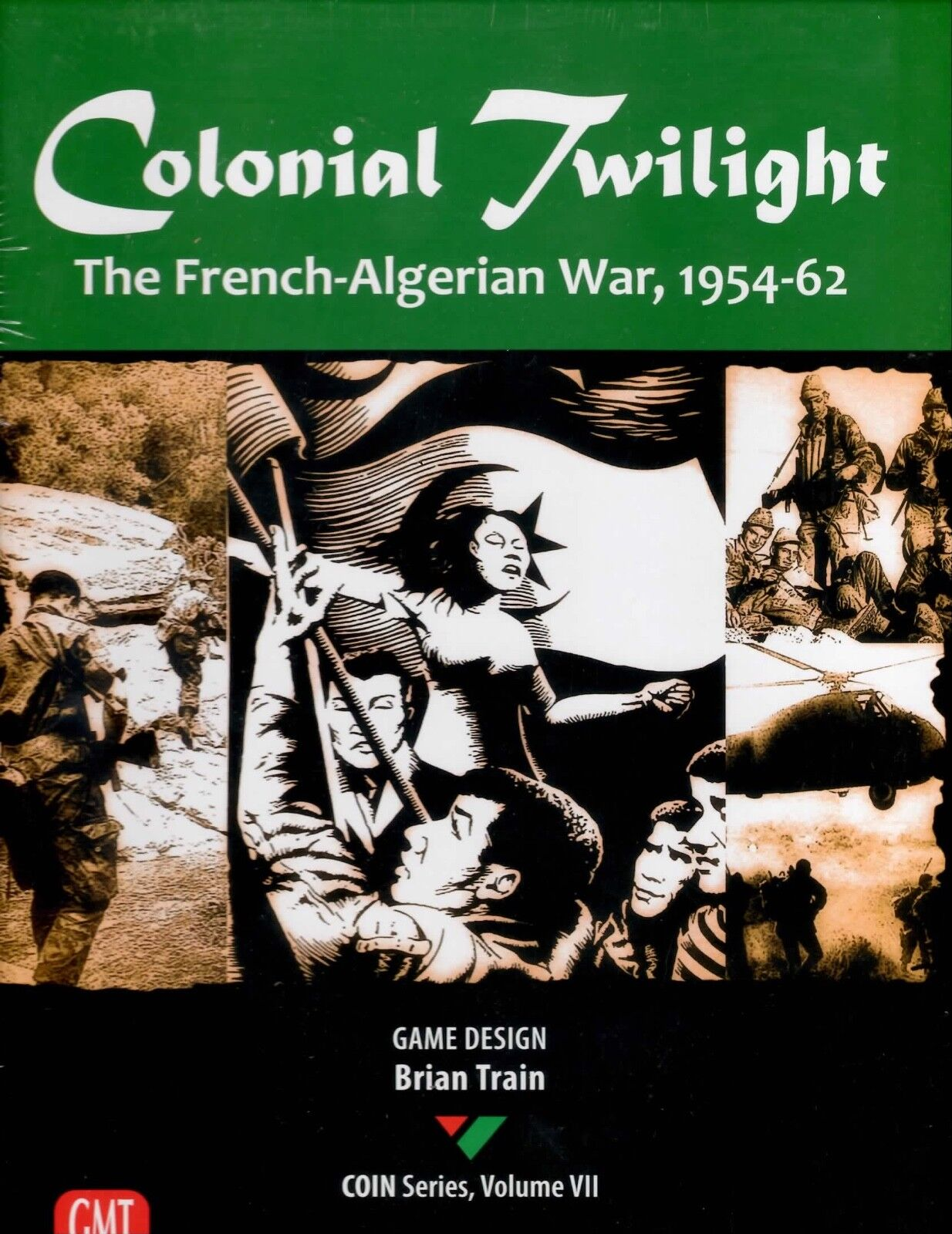 GMT Colonial Twilight  The French-Algerian War, 1954-62 New in shrink wrap