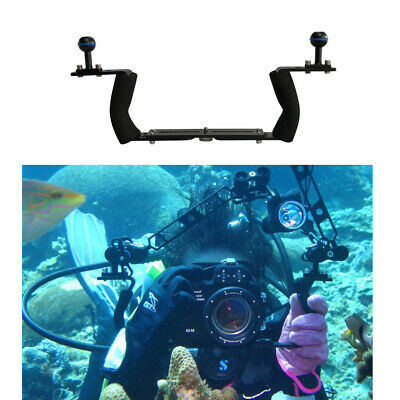 Adjustable Diving Dual Hand-held CNC Aluminum Lamp Arm Holder for Diving Underwater Photography System Upgrade Version Durable
