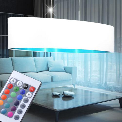 LED Decken Hänge Leuchten dimmbar RGB Fernbedienung Wohn Zimmer Tisch Big Light