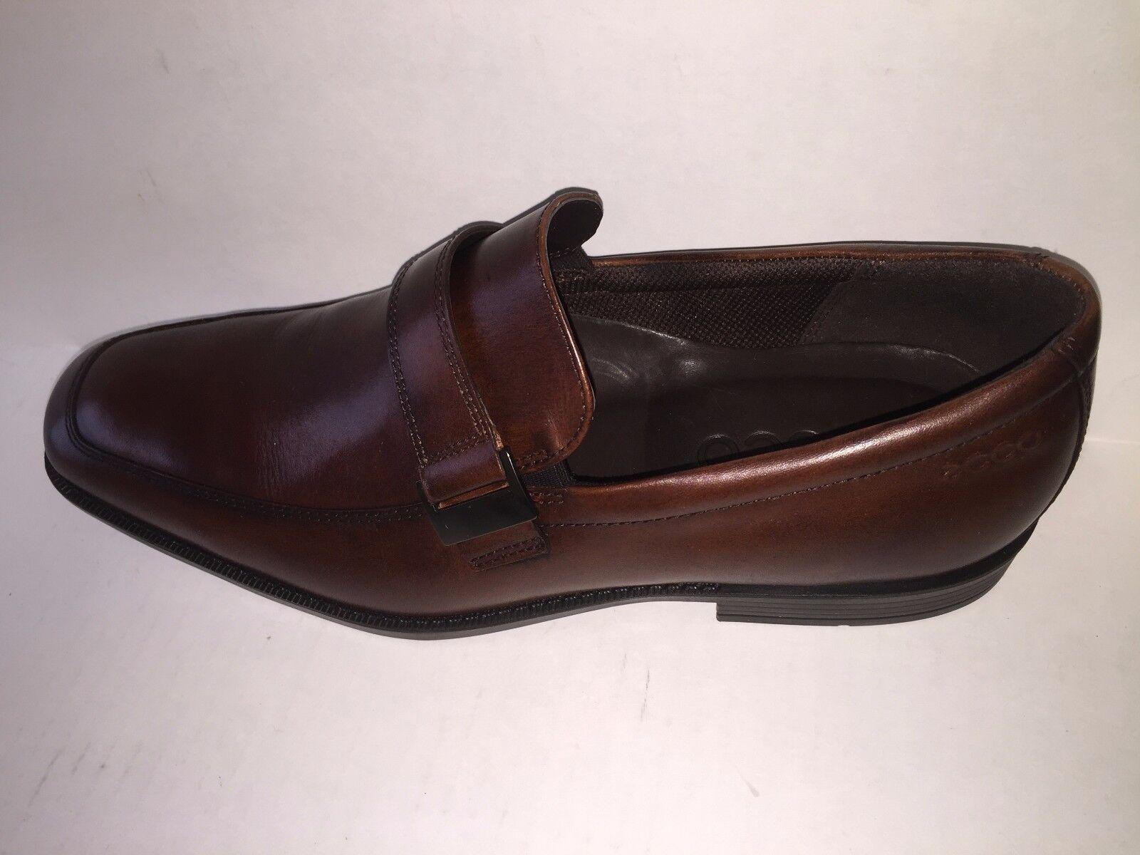 nessun minimo ECCO Uomo Edinburgh Buckle Slip On Loafers scarpe (Mink (Mink (Mink Marrone) 63255401014  NEW  ordinare on-line