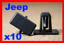 Jeep Cherokee rocker panel sill cover panel lining fastener clips auto