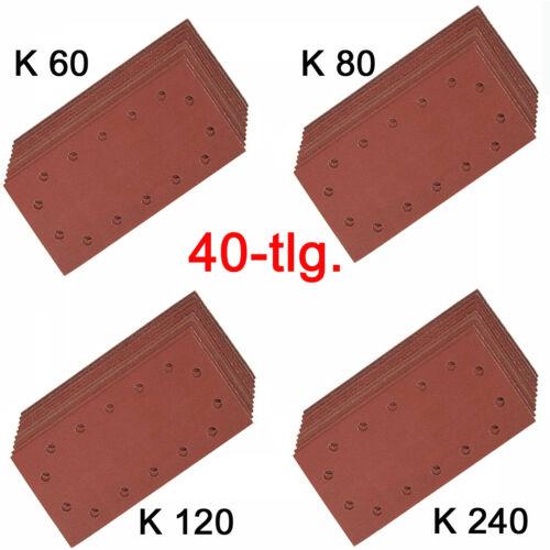 Schleifpapier Schleifblätter für Schwingschleifer EINHELL BT OS 280 RT OS 30