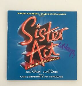 Whoopi-Goldberg-Signed-Sister-Act-The-Musical-CD-Original-London-Cast-Recording