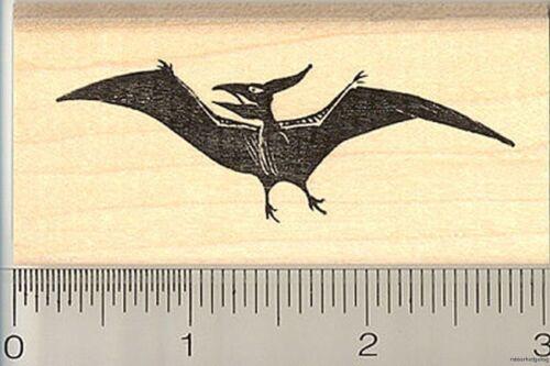 Pterodactyl pterosaur rubber stamp G9914 WM dinosaur