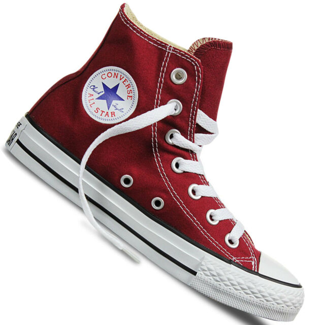 602a38081614eb Converse All Star Hi Shoes Chucks Maroon Wine Red M9613 EUR 43 for ...