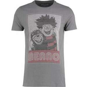 Official-Licensed-Beano-Popcorn-T-shirt-gris