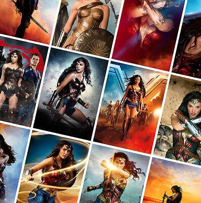 Wonder Woman DC Comics Movie Poster Print T654 A4 A3 A2 A1 A0|