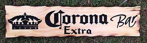 Corona-Extra-Bar-Rustic-Pine-Timber-Sign