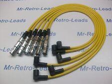 Rendimiento 8MM Amarillo Encendido contactos para VW Passat 2.8 VR6 OBD2 calidad conduce
