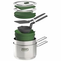 Stanley Stainless Steel 2 Pot Prep and Cook Set 2.43 QT, 10-01613-001