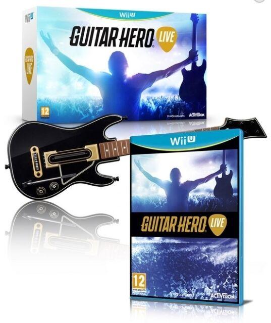 WIIU Guitar Hero Live - ITA - NUOVO SIGILLATO  [WIIU0139]