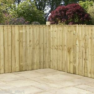 wooden fence panels pressure treated feather edge fencing. Black Bedroom Furniture Sets. Home Design Ideas