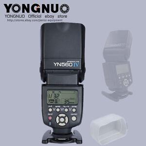 YONGNUO YN560IV speedlite flash for canon EOS 5DIV 1300D 1200D 5DS 760D 750D