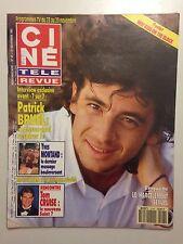CINE TELE REVUE N°47 1991 PATRICK BRUEL + POSTER NEW KIDS ON THE BLOCK