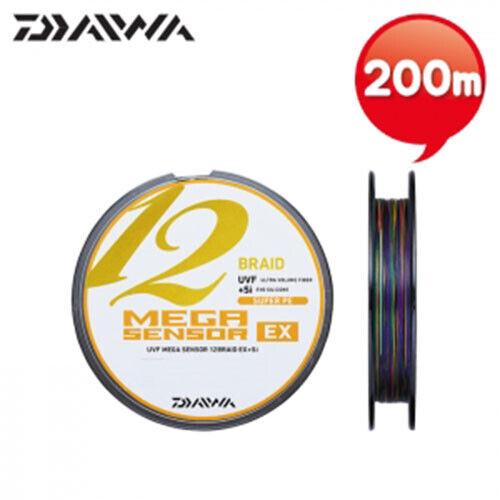 DAIWA UVF MEGA SENSOR 12 Braid EX+Si  #2  200m PE  Fishing Line     204576