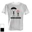 Downloading Parachute T-Shirt Hommes Fun Shirt Fête Internet Haute Vitesse drôle
