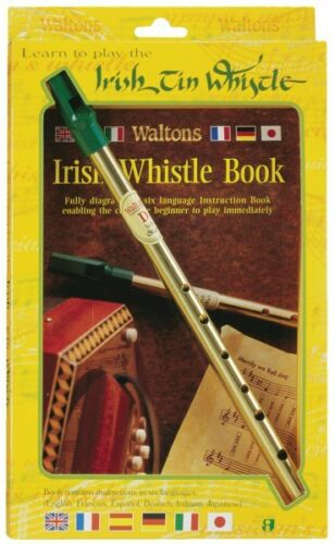 Learn to Play the Irish Tin Whistle Twin Pack including key of D whist 000634113