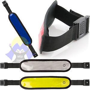 BRACCIALETTO-LED-per-CORSA-Correre-RUNNER-con-LUCE-Armband-JOGGING-Visibilita-039