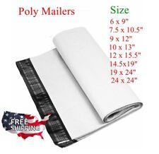 Poly Mailer Plastic Mailing Bag 6x9 9x12 10x13 145x19 100 500 1000