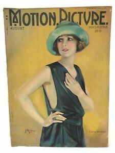 Motion-Picture-Magazine-August-1922-Hollywood-Stars-Entertainment