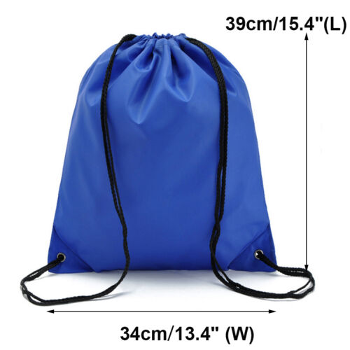 Emoji Gym Beach Swim Bag Drawstring School Sports PE Kids Backpack Rucksack Bags