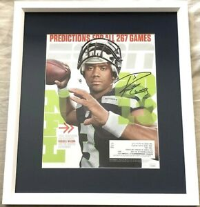 Russell-Wilson-autographed-signed-Seattle-Seahawks-2013-ESPN-cover-framed-JSA