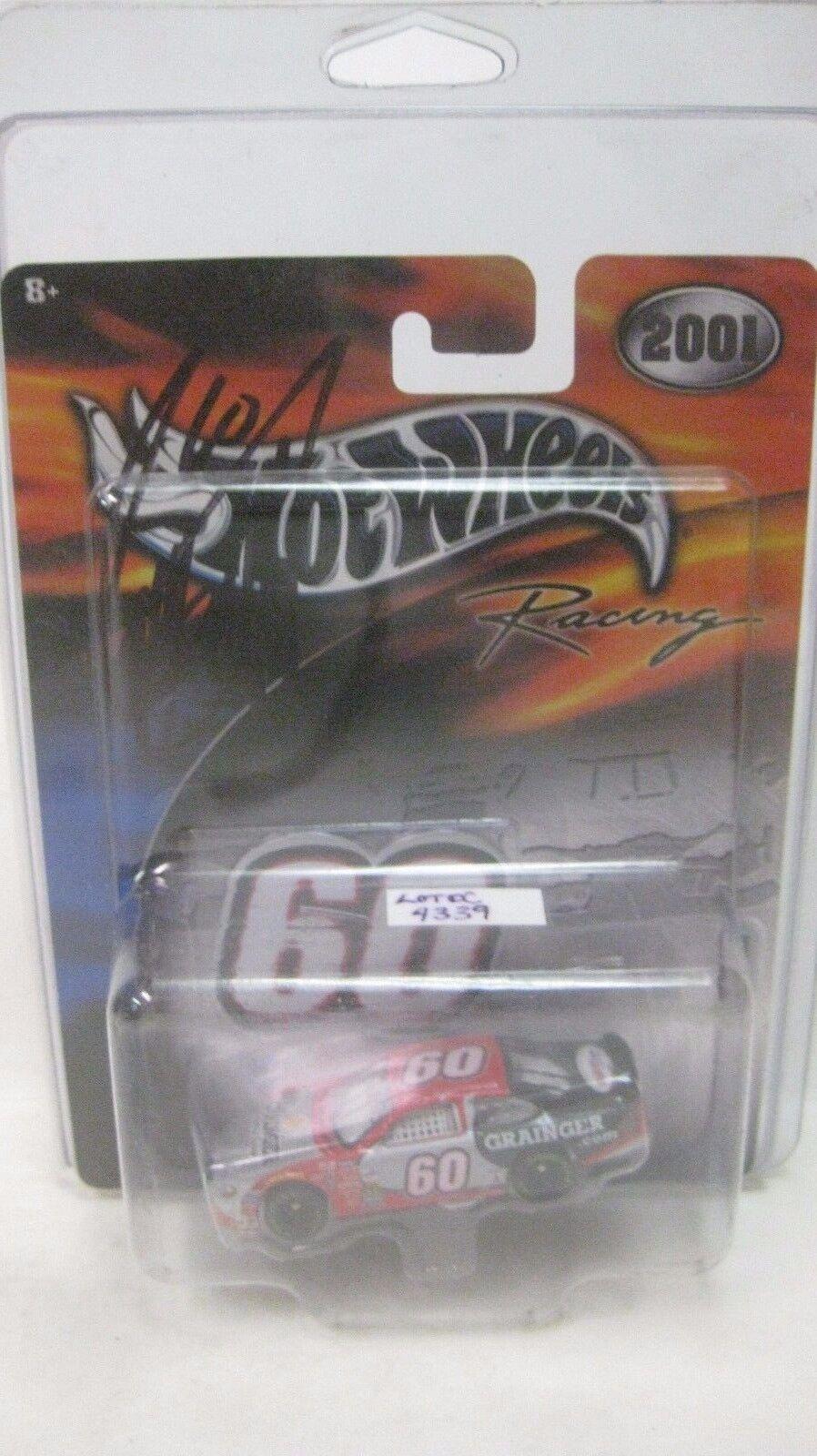 Raro Nascar 2001 Greg Biffle Autografato Ford Taurus 1 64 Pressofuso Nuovo