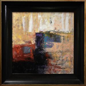 Medium-Framed-Original-Acrylic-Abstract-Art-on-Canvas-by-Hunoz-20-x-20-034
