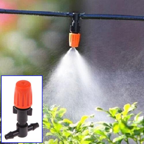 25Sets 360° Automatisch Garten Wasser Bewässerung Düsen Düse Tropfer Menge