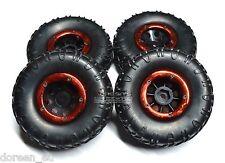 68023 4 Stück Räder kompl. montiert Wheel mounted Mini-Rock-Crawler Kulak