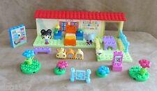 Mega Bloks Ni Hao Kai-Lan Bedroom Preschool Building Set House figures