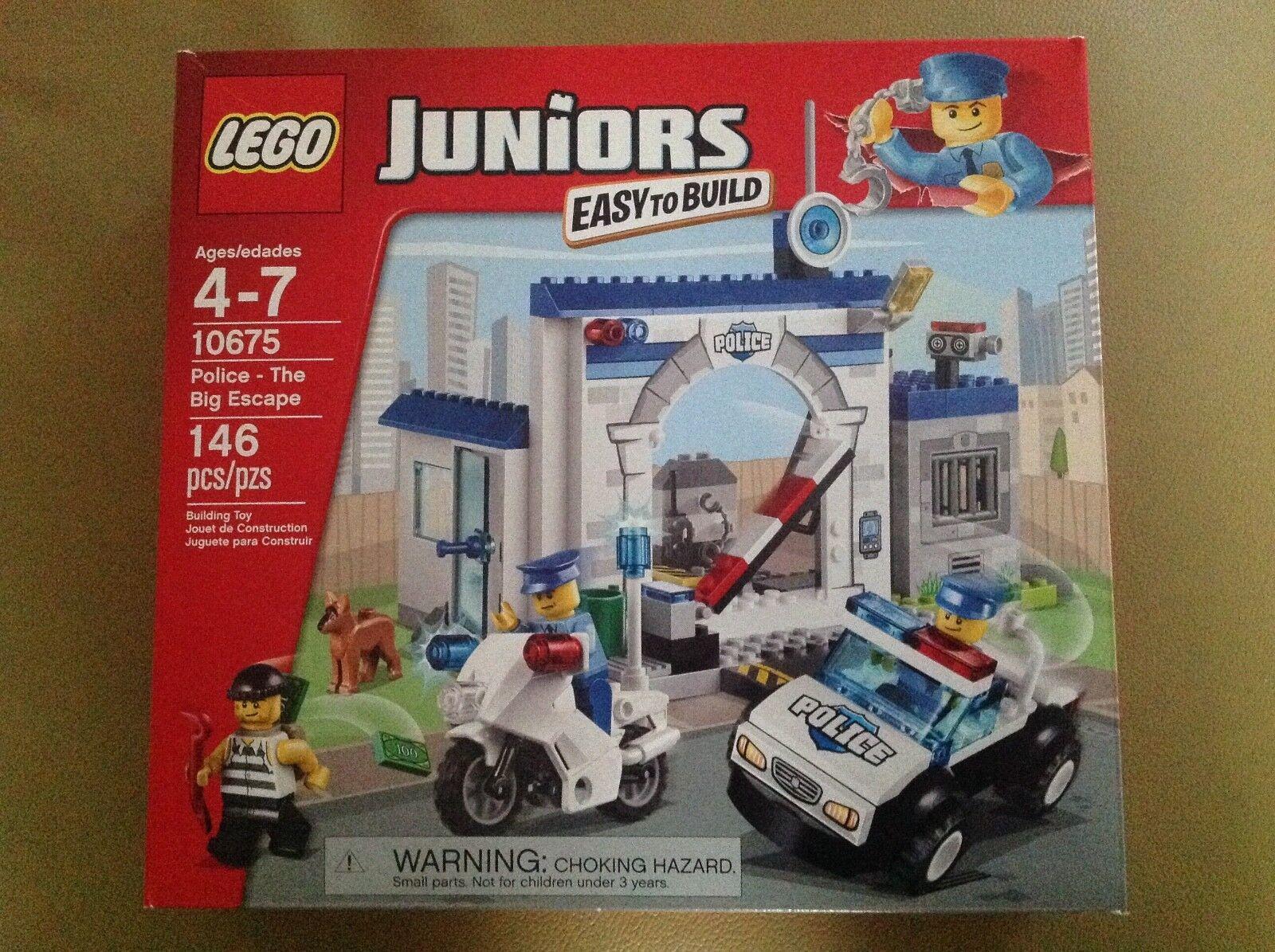 Nuevo Sellado Lego Juniors Policía-El Gran Escape Set  10675