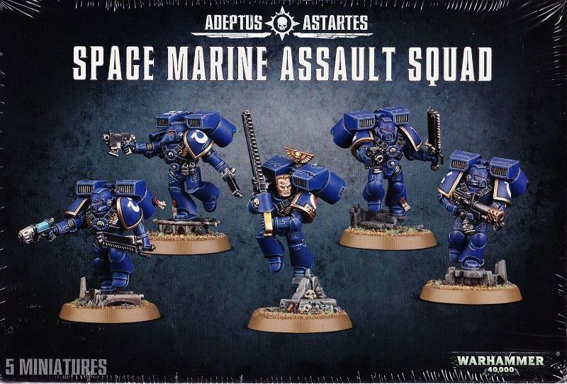 Space Navy Assault Squad Assault Squad Games Workshop Warhammer 40.000 GW 48-09
