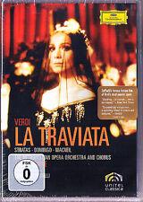 DVD VERDI: LA TRAVIATA Placido Domingo Teresa Stratas LEVINE Zeffirelli MacNeil