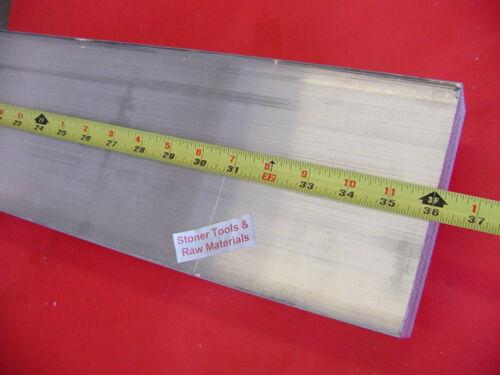 1-1/2 X 6 ALUMINUM 6061 FLAT BAR 36 long SOLID T6511 1.500 Plate Mill Stock