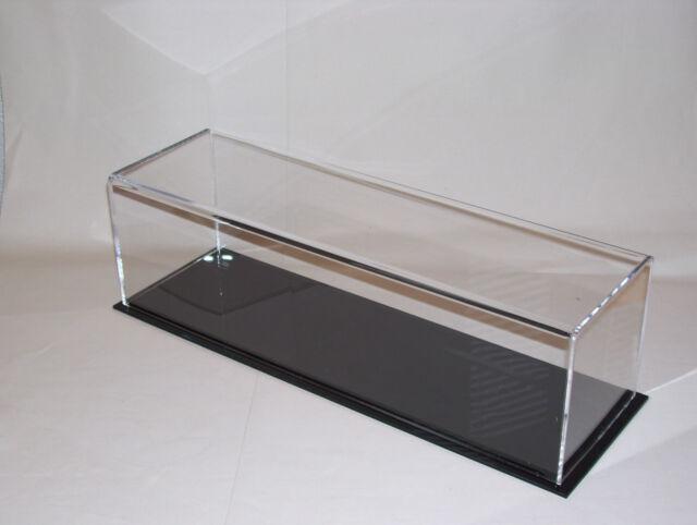 acrylic perspex  model display case 380 x 110 x 110   train lorry bus
