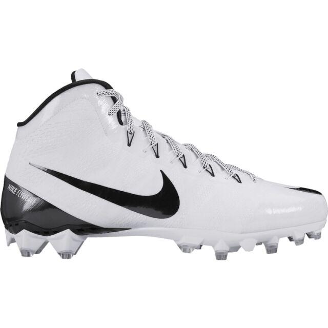 buy popular 9ba3c c378f Nike Men s CJ 3 Flyweave Elite TD Football Cleats 725226-100  1690 MSRP NWT  NIB