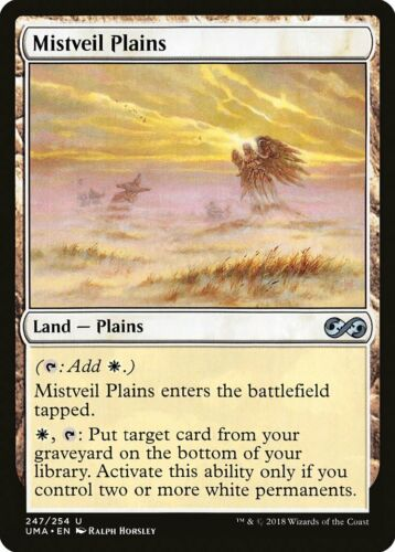 Mistveil Plains Ultimate Masters NM Land Uncommon MAGIC MTG CARD ABUGames