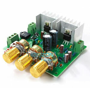 TDA2030A-Hi-Fi-2-0-DUAL-CHANNEL-15W-15W-15W-2-Amplificateur-Board-LM1875-Compatible