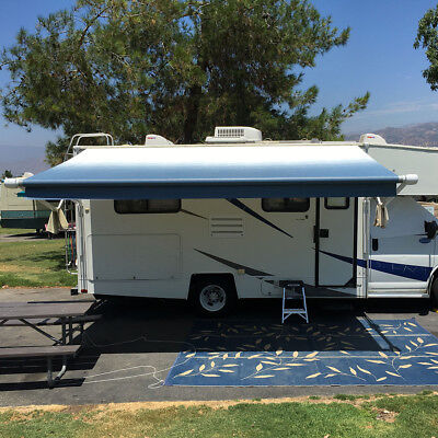 RV Camper Awning Fabric 14'2'' Replace Awning Fabric for ...