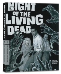 Details about Night of the Living Dead The Criterion Collection New Region  B Blu-ray