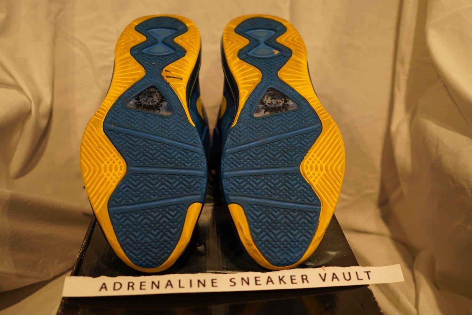 Nike lebron 8 v / 2 anhang viii 2011 schwarz foto: blau - schwarz 2011 gelben weihnachten bhm tour ec21ba