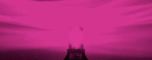 B6L4P PINK 9-80V AC DC LED FORKLIFT EMERGENCY WARNING LED LIGHT BEACON STROBE