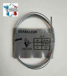 Cable-de-derailleur-universel-Velox-2-00-m-en-acier-velo-vintage-derailleur