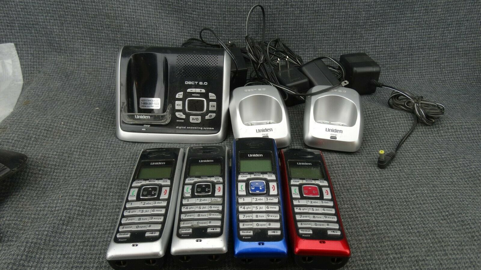 Binatone Designer 2115 Twin Dect Home Telephones With Answer Machine 2 Phones For Sale Online Ebay