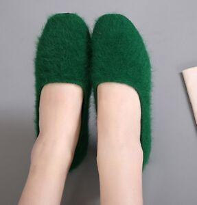 stivali stivaletti bassi scarpe ballerine verde pelo eleganti simil pelle 9325