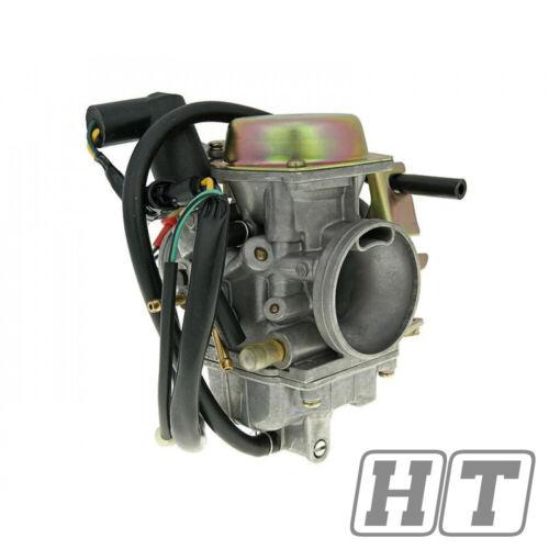 Naraku Carburateur 30 mm POUR YAMAHA YP 125 MAJESTY 50 SYM tonics membrane contrôlé
