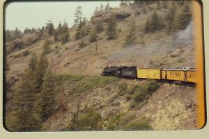 ORIGINAL TRAIN SLIDES LOT RAILROAD TRIP 1960 ALAMOSA-DURANGO 480 RIO GRANDE