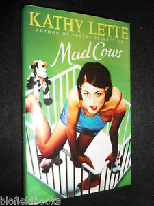 SIGNED-Mad-Cows-by-Kathy-Lette-Hardback-1996-1st-Womens-Fiction-Humour